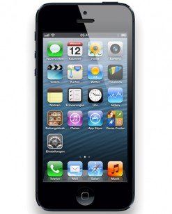 Apple iPhone 5 16 GB black, T-Mobile Branding